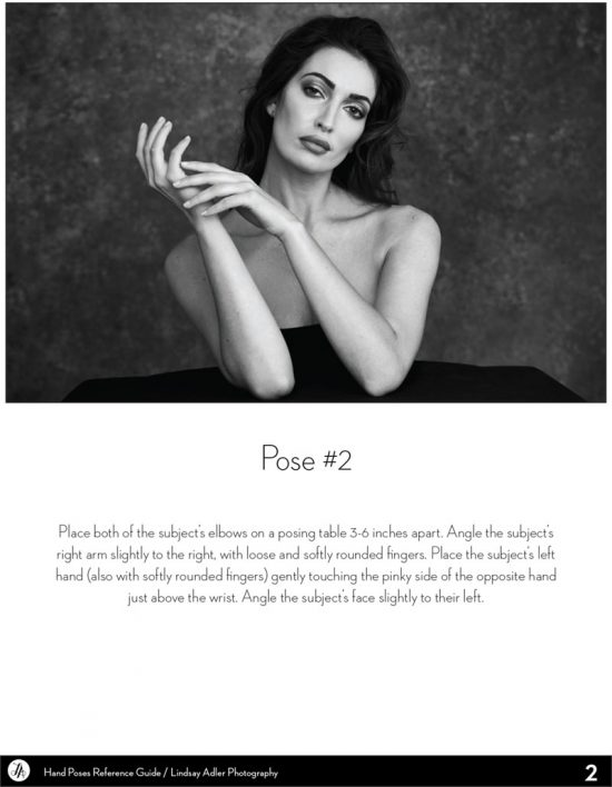 Posing Hands - Lindsay Adler Photography - model posing hands
