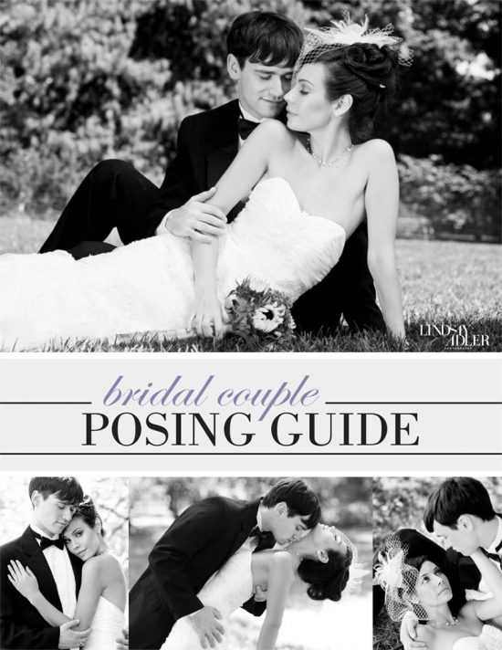 The Bridal Couple Posing Guide by Lindsay Adler - cover