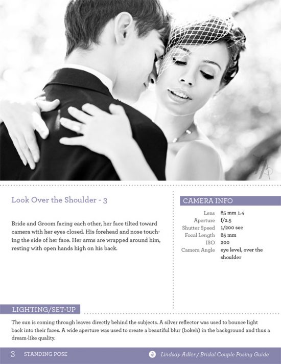 The Bridal Couple Posing Guide by Lindsay Adler - couple embracing each other with hug