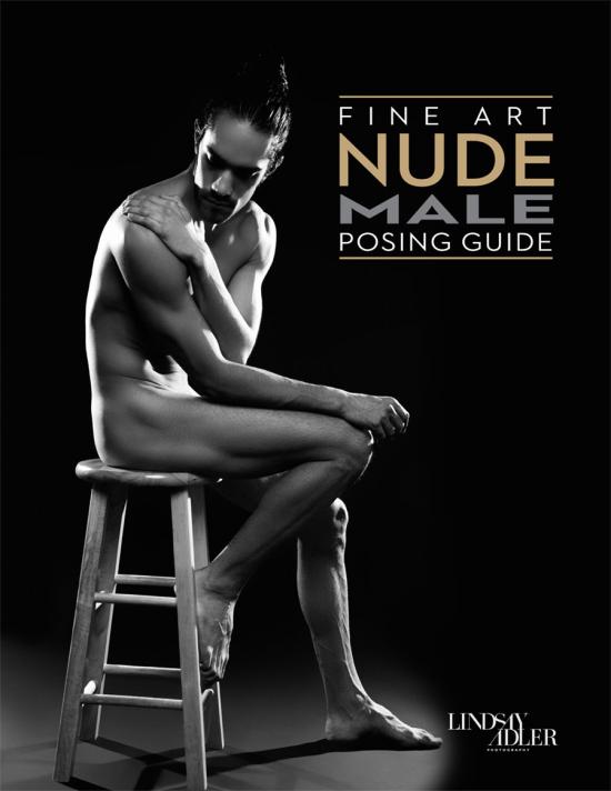 Fine Art Nude Male Posing Guide by Lindsay Adler - Cover