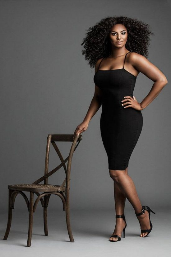 The Photographers Guide to Posing by Lindsay Adler - African American model posing