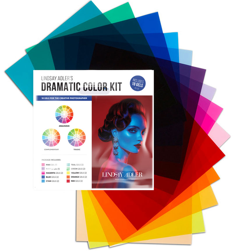 The Dramatic Color Kit - Lindsay Adler Photography
