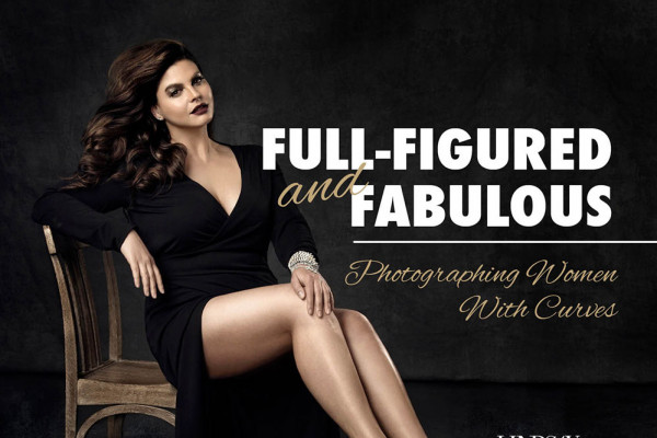 Full-figured and Fabulous Posing Guide cover - Lindsay Adler Photography