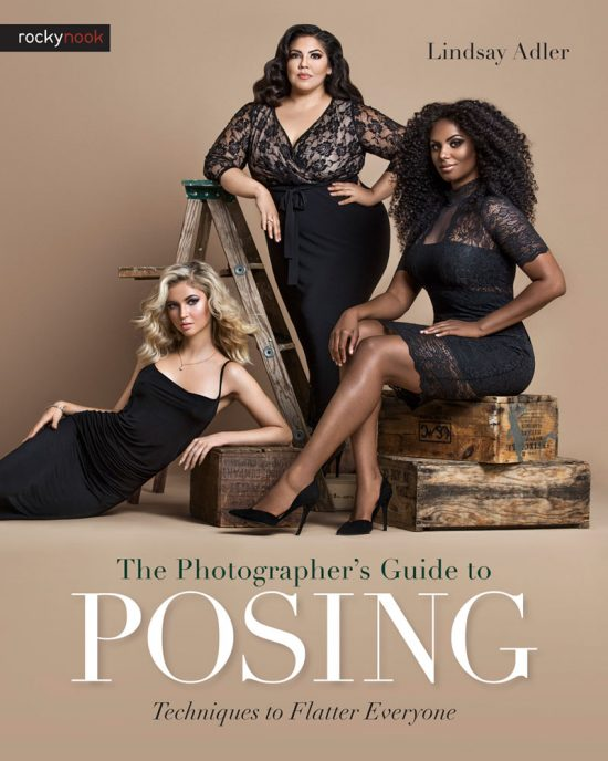 The Photographers Guide to Posing by Lindsay Adler - cover