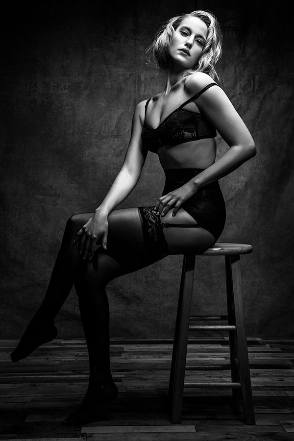 Boudoir Photography with Lindsay Adler - Old Hollywood Glamour