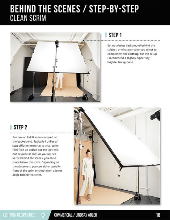 Commercial Lighting Guide - Lindsay Adler Photography - lighting bts