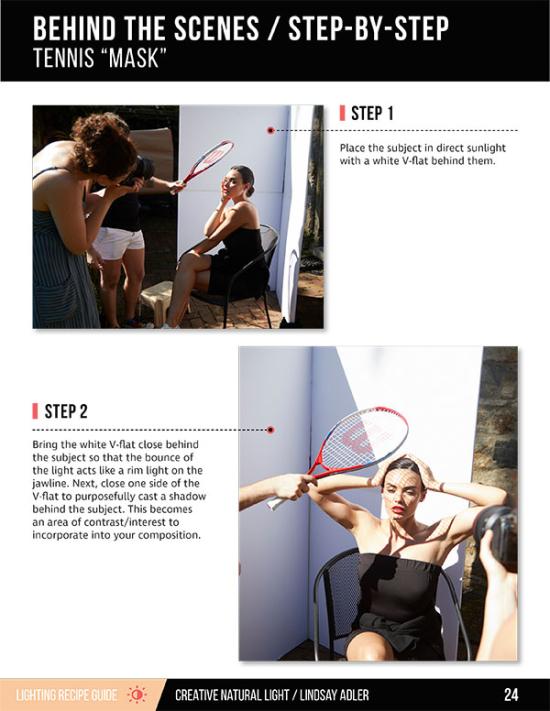 Creative Natural Light Recipe Guide - Sample - Lindsay Adler Photography