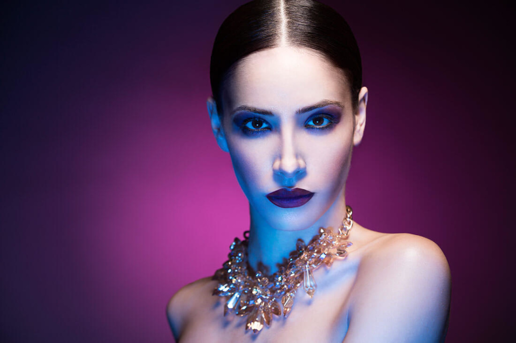 Creative Studio Lighting - Clam Shell Gel - Lindsay Adler Photography - bts