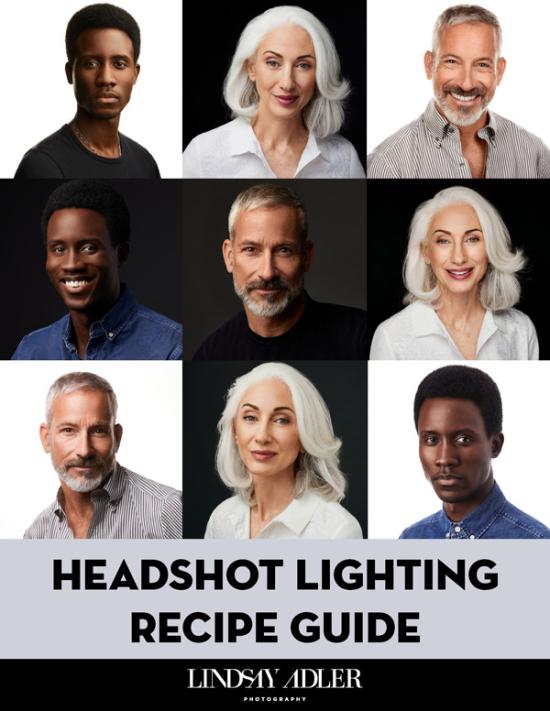 Lindsay Adler - Headshot Lighting Recipe Guide