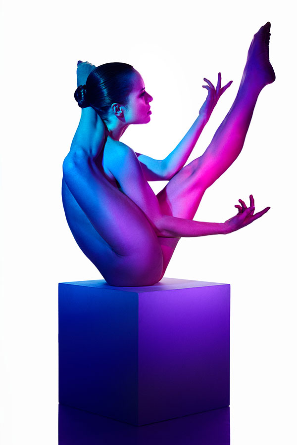 Gel contortionist - The conceptual art nude - LIndsay Adler Photography