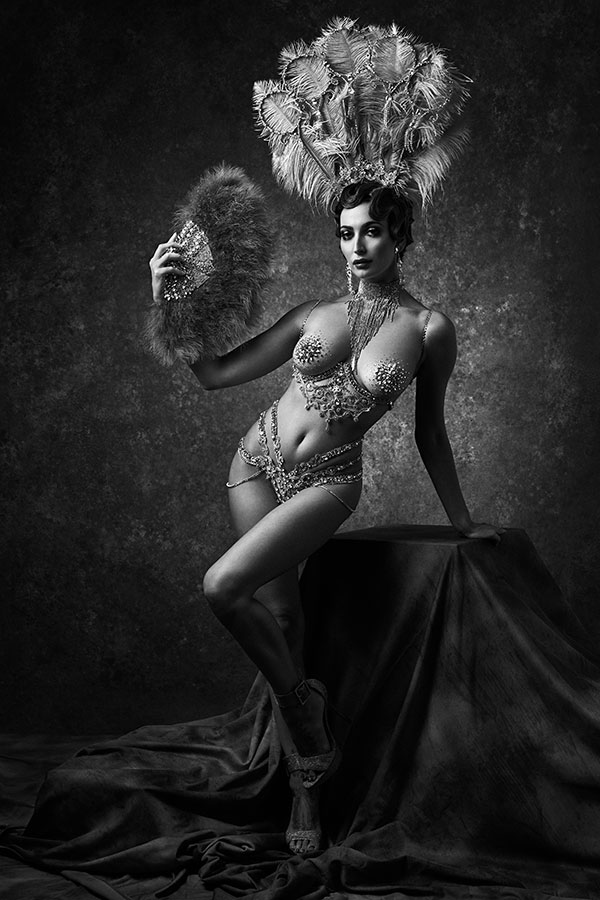 ziegfeld follies - conceptual art nude Lindsay Adler Photography