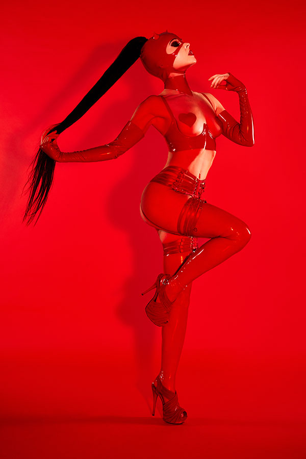 Red Bondage - The conceptual art nude - Lindsay Adler Photography