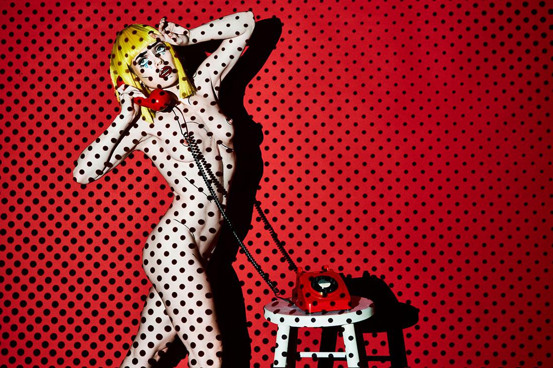Roy Lichtenstein - Conceptual Fine Art Nude - Lindsay Adler Photography
