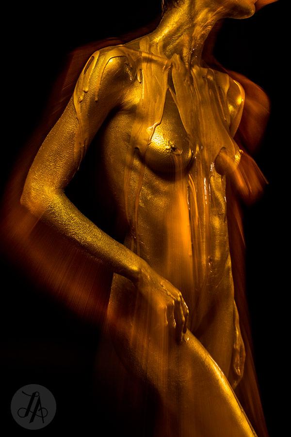 Fine Art Nude Gold
