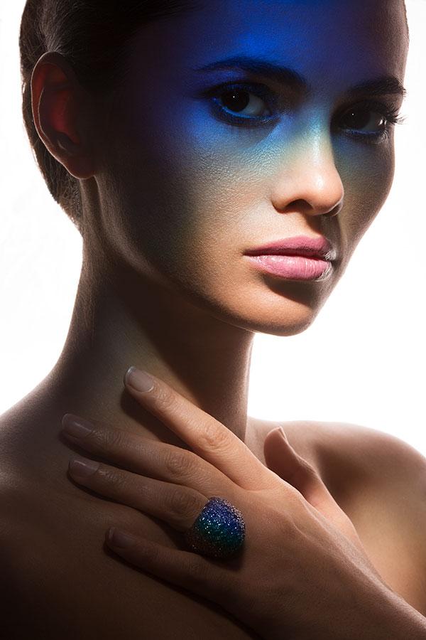Creative Studio Lighting - Gel Gradient - Lindsay Adler Photography