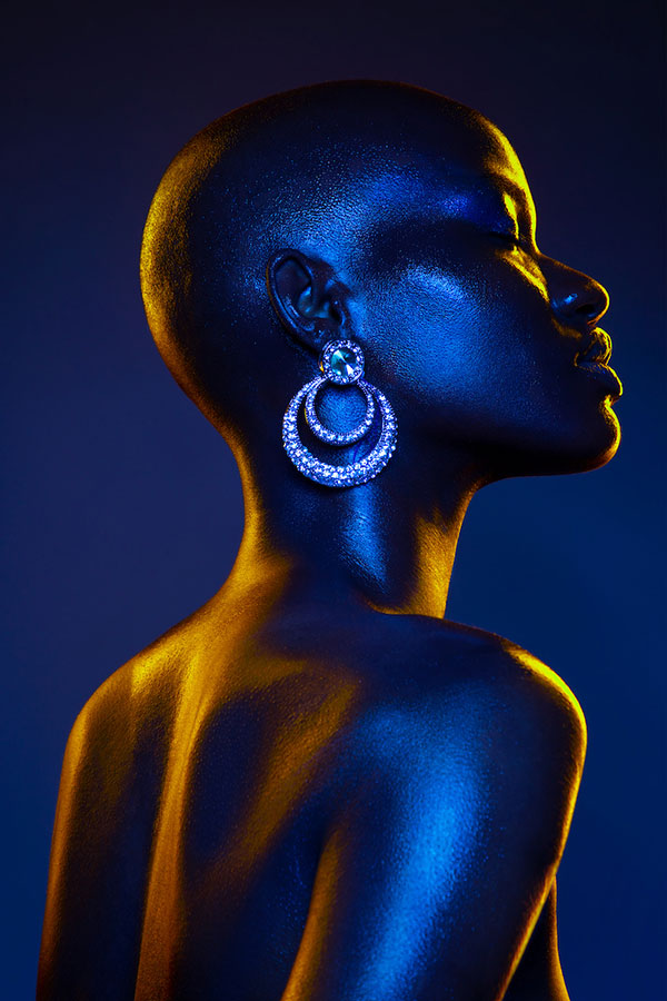 Finding Your Style - Lindsay Adler Photography - African american model with gels