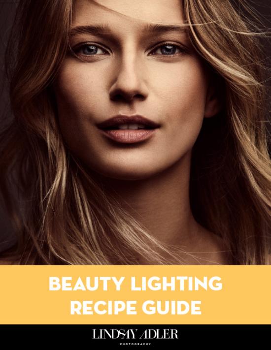 Beauty Lighting Recipe Guide - Lindsay Adler Photography