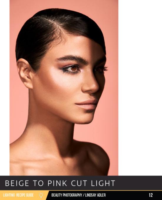 Beauty Lighting Recipe Guide - Lindsay Adler Photography - sample lighting setup