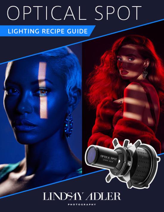Optical Spot Lighting Recipe Guide by Lindsay Adler